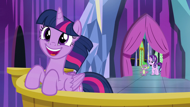 File:Spike and Starlight join Twilight on the balcony S6E1.png