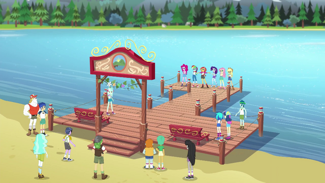 File:Equestria Girls and Wondercolts on the completed dock EG4.png