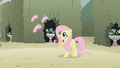 Fluttershy denies that her friends left her S2E01.png