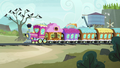 Friendship Express arrives at Ghastly Gorge station S7E4.png