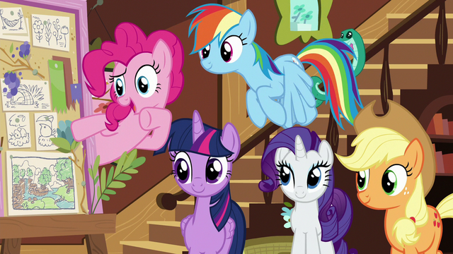 """File:Pinkie Pie """"we should call you 'Flutterbold' now!"""" S7E5.png"""