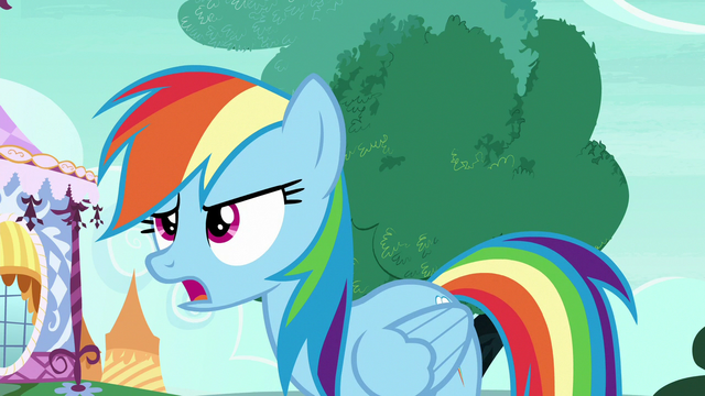 "File:Rainbow Changeling ""very important friendship business"" S6E25.png"