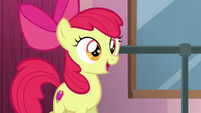 Apple Bloom getting excited S6E4