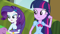 "Rarity ""don't even think about it"" EG"