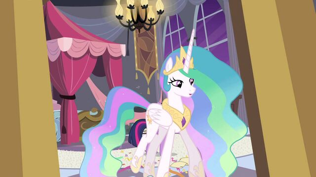 File:Princess Celestia leaves the room S04E01.jpg