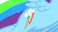 Rainbow Dash earns her cutie mark S1E23