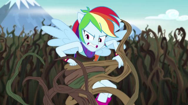 File:Rainbow Dash wrestling with bramble vines EG4.png