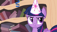 Twilight rolls her eyes S4E04