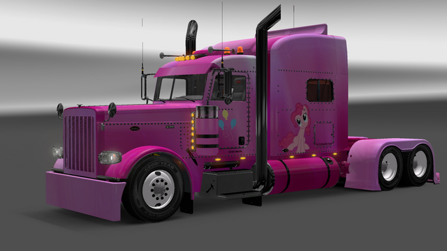 File:FANMADE ETS2 Pete 389 Custom - Pinkie Pie Skin 6.png