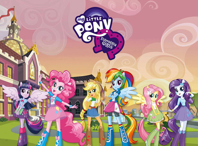File:My Little Pony Equestria Girls outside Canterlot High promotional.jpg
