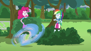 Pinkie Pie makes a hasty retreat EG3.png