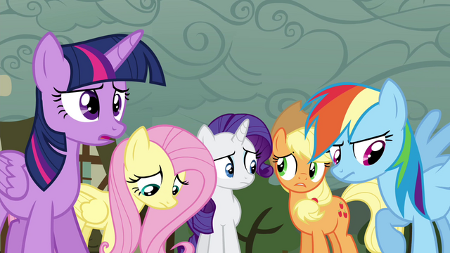 File:Twilight and friends disappointed S4E18.png