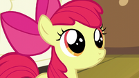 Apple Bloom wide-eyed S5E04