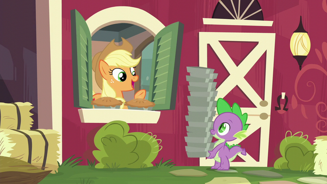 "File:Applejack ""sure thing, Spike!"" S6E10.png"