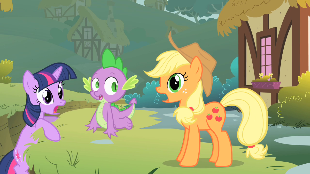 Image - Applejack gasping S1E15.png | My Little Pony ...