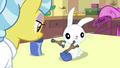 Dr. Fauna giving tiny crutches to Angel S7E5.png