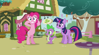 Pinkie Pie 'That I'm missing out on too!' S3E3