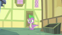 Spike in the alleyway S4E23