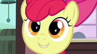 Apple Bloom's face S3E04