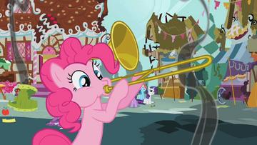 Pinkie Pie trombone outro S1E10