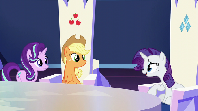 "File:Rarity ""baby is due any day"" S6E1.png"