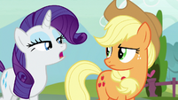 "Rarity ""why are you so angry?"" S7E9"