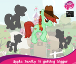 Apple family expansion promo MLP mobile game