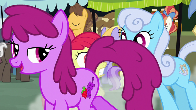 File:Berryshine and Shoeshine pass in front of Apple Bloom S7E13.png