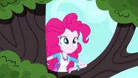 Pinkie Pie climbing the tree SS10
