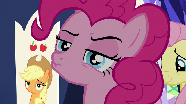 File:Pinkie Pie with a hmm face S6E1.png