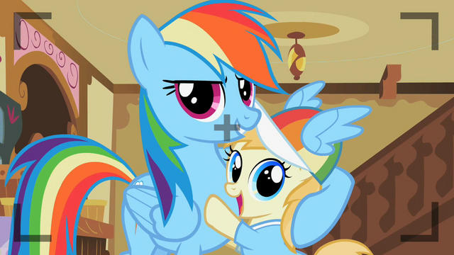 File:Rainbow Dash with Noi S2E8.png