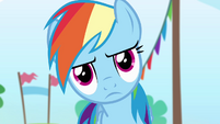 Rainbow being serious S4E10