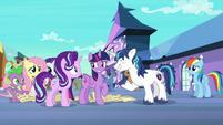 Twilight Sparkle embarrassed S6E1
