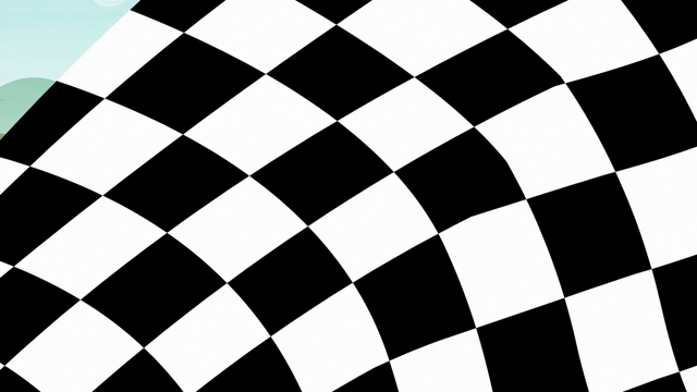 File:Checkered flag waves in front of camera S6E14.png