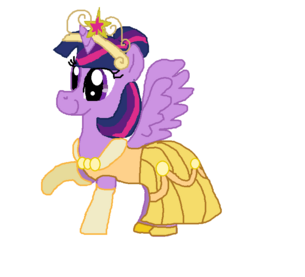 FANMADE Twilight royal party dress