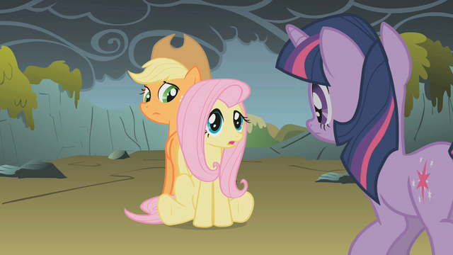 "File:Fluttershy ""because they're not dragons"" S01E07.png"