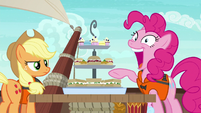 "Pinkie Pie ""I can fit them all in my mouth!"" S6E22"