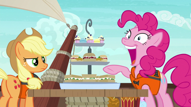 """File:Pinkie Pie """"I can fit them all in my mouth!"""" S6E22.png"""