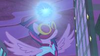 Masked Matter-Horn charging her magic S4E06