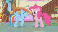 """Rainbow Dash """"no hard feelings?"""" S1E05"""