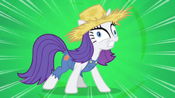 """Rarity """"I love being covered in mud!"""" S4E13"""