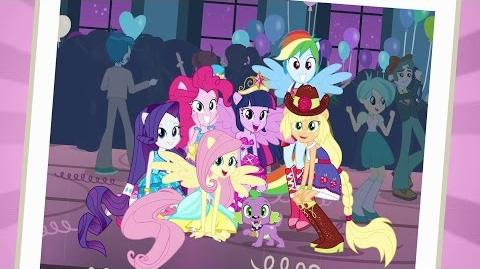 Romanian Equestria Girls This Is Our Big Night - Reprise HD