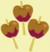 Three caramel apples cutie mark crop