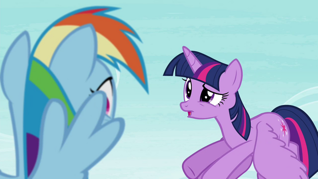 "File:Twilight ""that doesn't mean you shouldn't be studying for yours!"" S4E21.png"