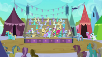 Derpy at the joust cameo S3E2