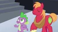 """Spike """"actually, we're staying here"""" S6E17"""