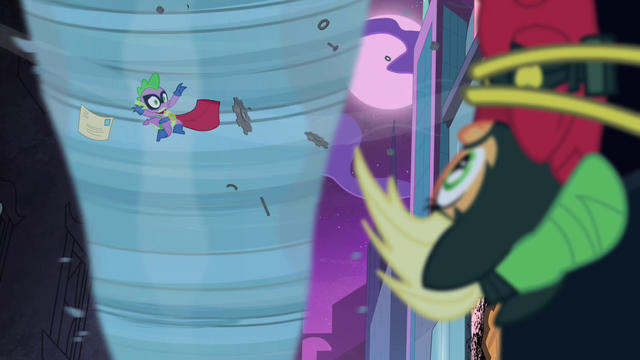 File:Spike calls out to Applejack S4E06.png