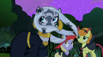 Zecora and ponies in the wind S2E04