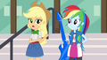 Applejack pointing to Rainbow EG3.png