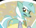 Lyra Heartstrings cutie mark switched ID WeLoveFine